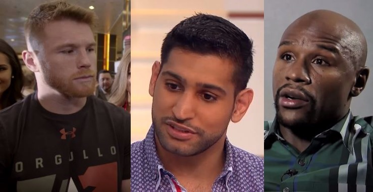 Amir Khan Hints At Mayweather Fight - Offers Explanation For Canelo Loss